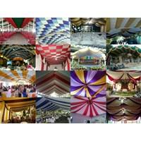 Aneka Plafon Dekorasi Tenda