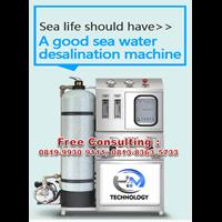 Jual MESIN RO SEAWATER 5000 LTR/ HARI COMPLETE SET 2