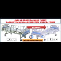 Ranjang Elektrik (Upgrade Ranjang Manual Ke Elektrik 2 Posisi)