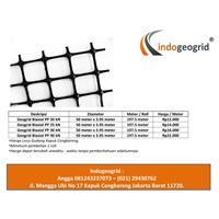 Geogrid Biaxial PP 30 kN