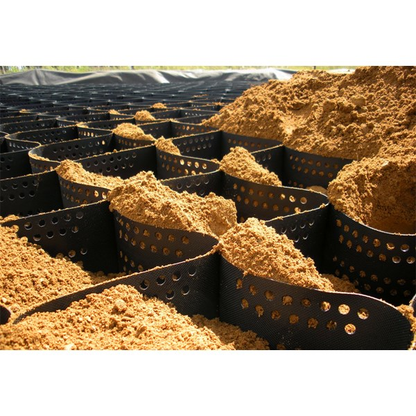 Drainage Cell / Geocell perkuatan lereng