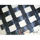 Uniaxial Geogrid Polyester Polypropylene HDPE 3
