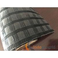 Geogrid Uniaxial PET PP atau HDPE