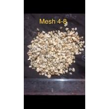 Pasir Silika Mesh 4 - 8