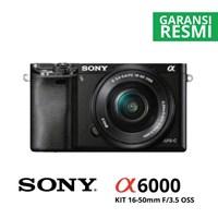 Kamera Digital Mirrorless Sony A6000 Kit 16-50Mm Hitam 1