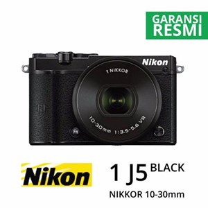 Kamera Digital Mirrorless Nikon 1 J5 Kit 10-30Mm Hitam