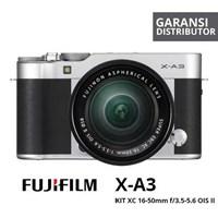 Kamera Digital Mirrorless Fujifilm Xa3 Kit 16-50Mm Silver 1