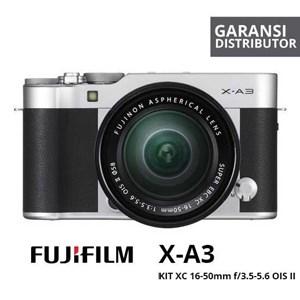 Kamera Digital Mirrorless Fujifilm Xa3 Kit 16-50Mm Silver