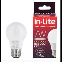 Bohlam Led In-Lite INB007-7CW Putih 1