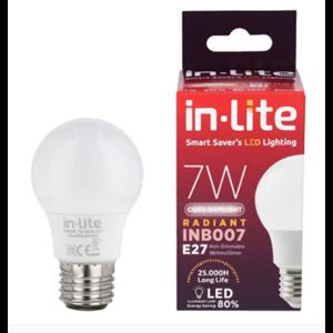 Bohlam Led In-Lite INB007-7CW Putih