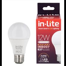 Bohlam Led In-Lite INB007-12CW Putih