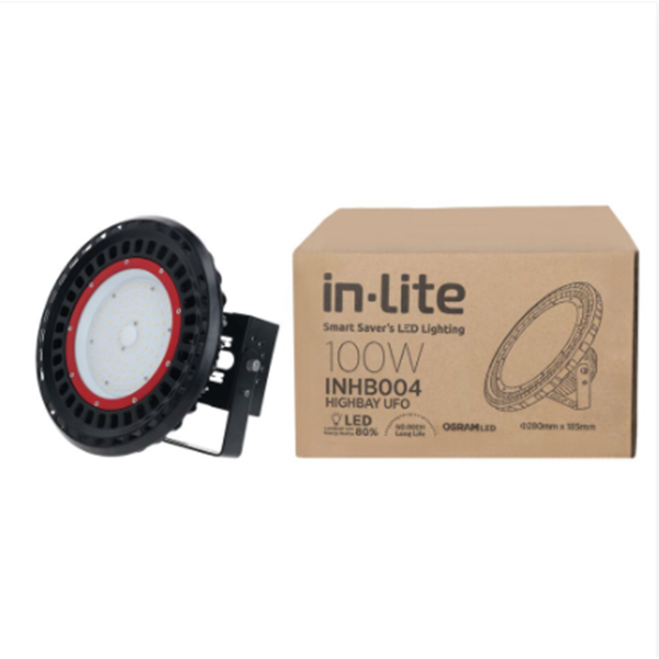 Lampu Sorot Led In-Lite High Bay Inhb004 - 100 Cw