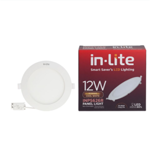 Lampu Panel Led In-Lite Inps626r - 12 Cw Kuning