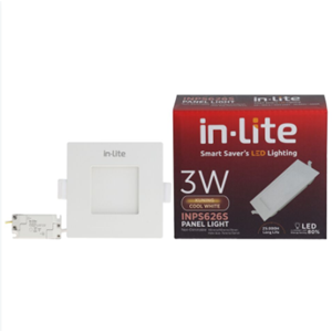 Lampu Panel Led In-Lite Inps626s - 3Cw Kuning