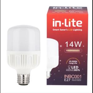 Lampu Bohlam LED In-Lite INBC001-14WW Kuning