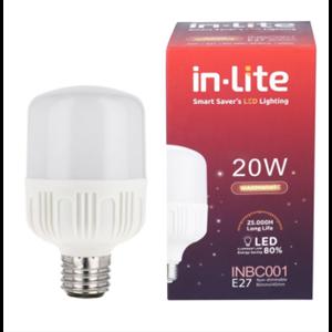 Lampu Bohlam LED In-Lite INBC001-20WW Putih