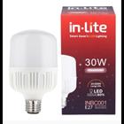 Lampu Bohlam LED In-Lite INBC001-30CW Putih 1