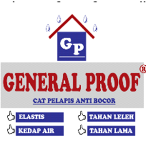 Cat Pelapis Anti Bocor General Proof 4 Kgs