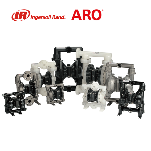 Ingersoll-Rand ARO EXP-Series Air Operated Double Diaphragm (AODD) Pumps