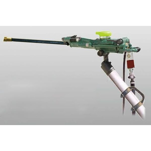 Air leg rock drill