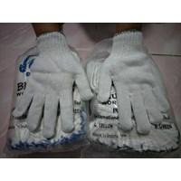 Distributor Sarung Tangan Safety  Benang 8 Hijau Tua 3