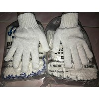 Beli Sarung Tangan Safety  Benang 8 Hijau Tua 4
