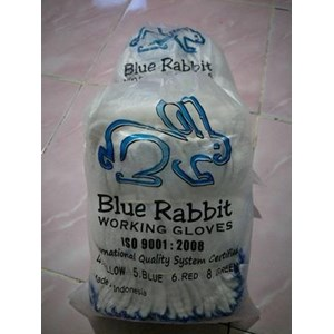 Sarung Tangan Safety Benang 5 Blue