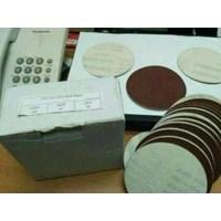 Jual Amplas Bulat 4 Inci Atau Velcro Disc Red 2