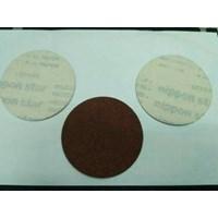 Amplas Bulat 4 Inci Atau Velcro Disc Red 1