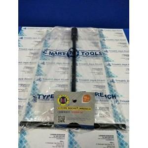 Kunci Sock Type T 16MM