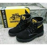 Jual Sepatu Safety Merk Caterpillar Ada Besi Diujung Kaki 2