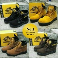 Distributor Sepatu Safety Merk Caterpillar Ada Besi Diujung Kaki 3