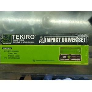 Impact Driver Merk Tekiro Set