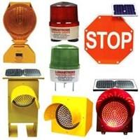road warning light (solar)