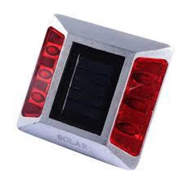 Road Stud Mata Kucing Alumunium (Tenaga Matahari) solar cell