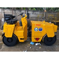 Jual Mesin Pemadat Tanah Double Drum Rollers SAKAI SW350 Kap. 4 ton Build Up Jepang