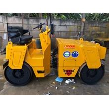 Mesin Pemadat Tanah Double Drum Rollers SAKAI SW350 Kap. 4 ton Build Up Jepang