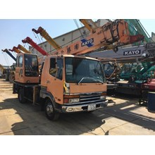 Crane Hydraulic Truck Crane KATO NK75MV Kap. 7 ton Build Up Jepang