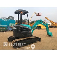 Jual Mini Excavator Kobelco SK30SR-5 build Up Jepang