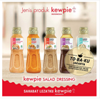 Kewpie Salad Dressing Japanese-style sauce Bottle Package 200ml 2
