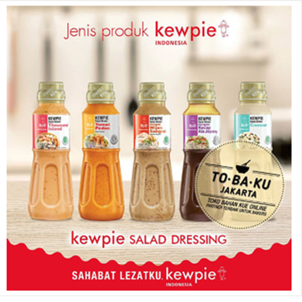 Kewpie Salad Dressing Japanese-style sauce Bottle Package 200ml