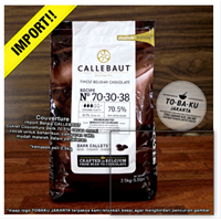 Jual Dark Chocolate Couverture NOIR Callebaut