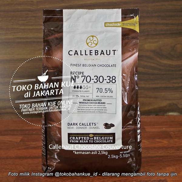 Dark Chocolate Couverture NOIR Callebaut