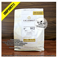 Jual Callebaut Finest Belgian Chocolate White