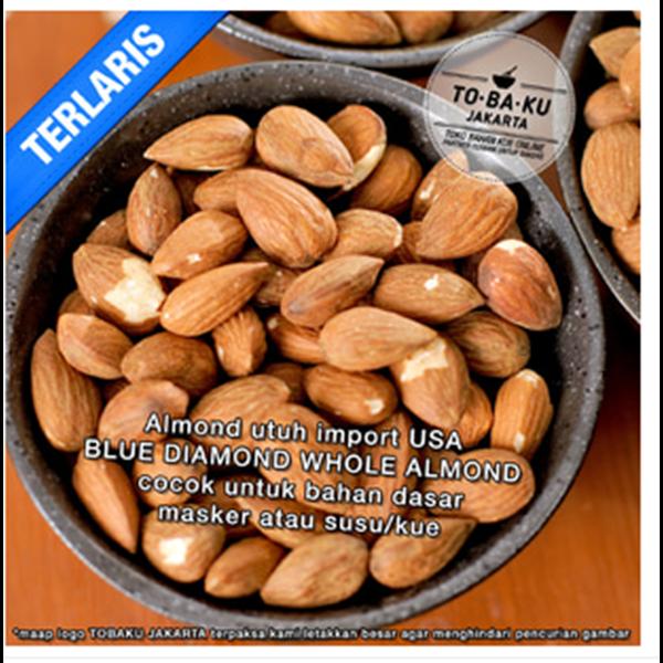 Kacang Almond - Raw Almond Whole