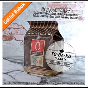 Tulip Burgundy Pure Dark Cocoa Powder