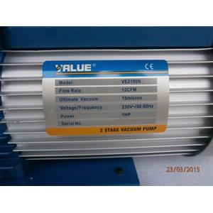 Dari vacuum pump value model VE2100N (1HP) 0