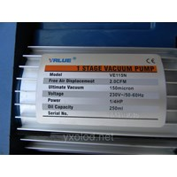 vacuum pump value model VE115N (1.4HP) 1