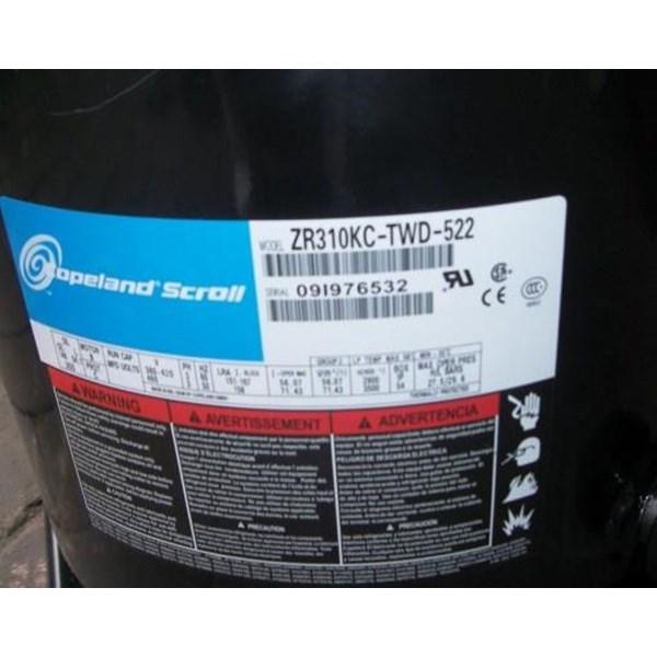 compressor copeland scroll model zr310kc-twd-522