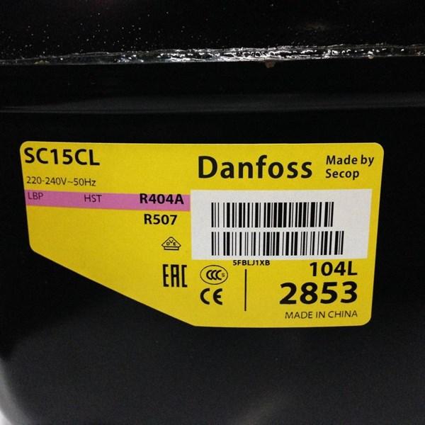 Jual compressor danfoss model SC15CL ( 1/2pk)